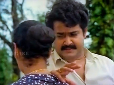 Mohanlal and his fingers in climax of Dasharatham