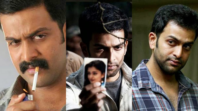 Prithviraj in Police Roles in Sathyam, Ravanan and Memories