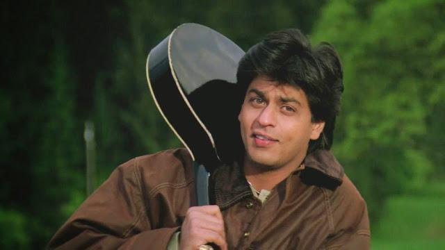 Shah Rukh Khan in Palat scene in DDLJ