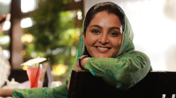 Manju Warrier in C/O Saira Banu