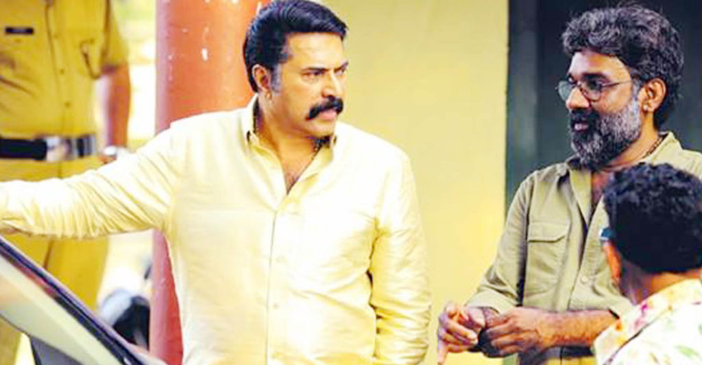 Ranjith and Mammootty in Puthan Panam