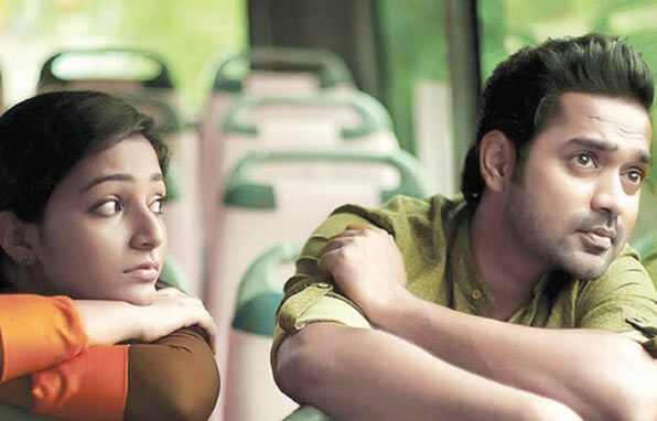 Asif Ali and Rajisha Vijayan in Anuraga Karikkin Vellam