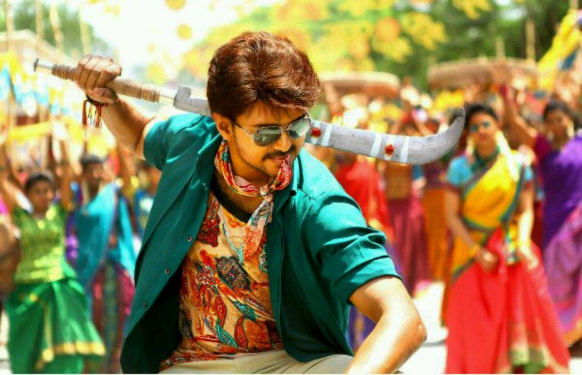 Vijay in Bhairavaa