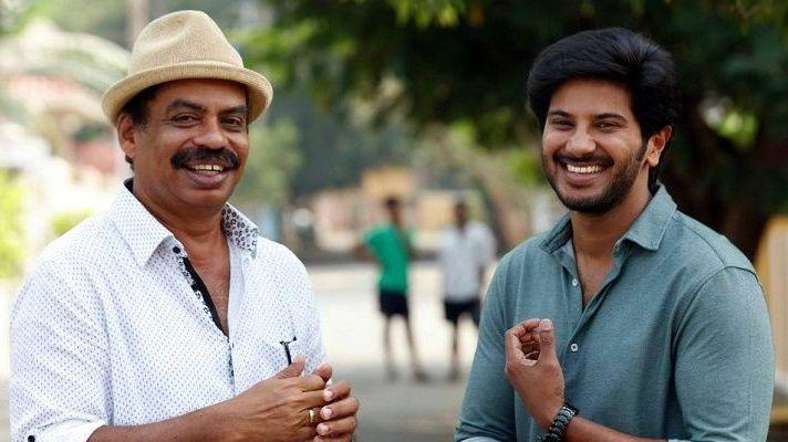 Dulquer Salmaan and Sathyan Anthikad from Jomonte Suvisheshangal