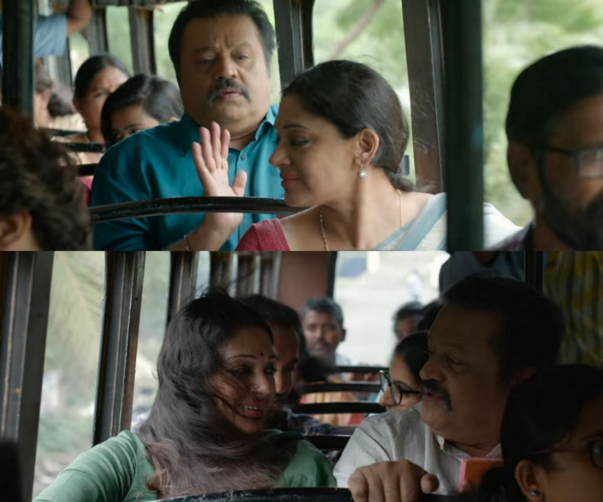 Suresh Gopi and Shobana in Varane Avashyamund