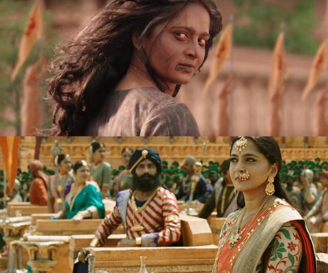 Anushka in interval of Baahubali series