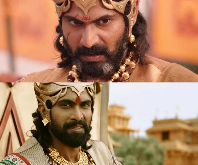 Rana as Bhallaladeva